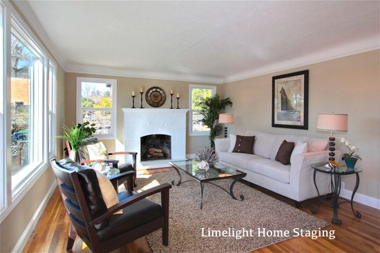 After image of a home staged in the Live Oak area of Santa Cruz