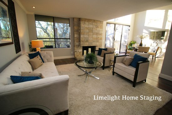 After image of a home staged in Los Gatos
