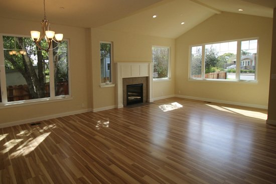 Before image of a home staged in the Harbor area of Santa Cruz
